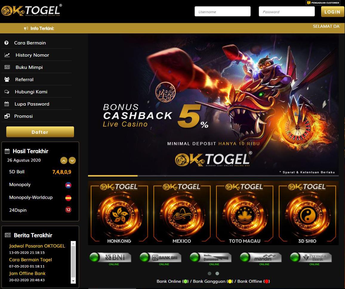 Situs Togel Resmi Terpercaya Dan Agen Toto Terbesar
